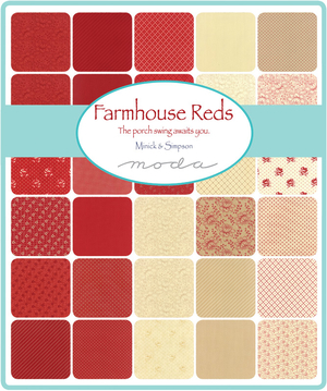 Farmhouse Reds layer cake