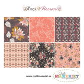Rock N Romance fat quarter-bunt
