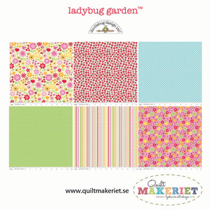 Ladybug Garden fat quarter-bunt