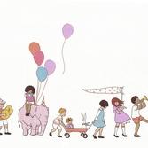 On parade